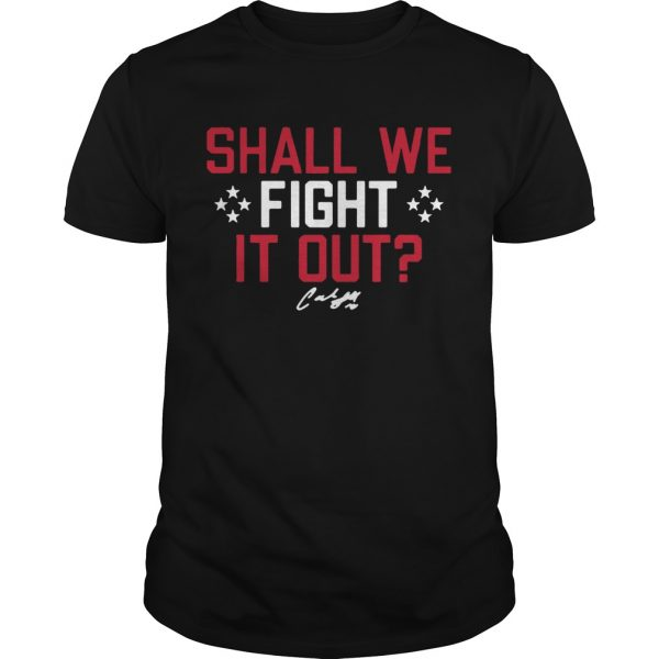 Shall We Fight it Out USWNTPA  Unisex