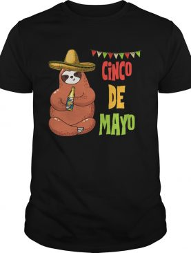 Sloth Cinco de Mayo shirt