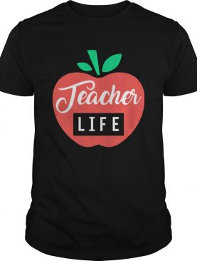 Teacher Pencil Shirt Teacher Life Apple shirt