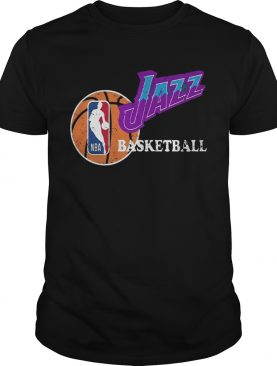 Vintage Jazz Basketball Nba shirt