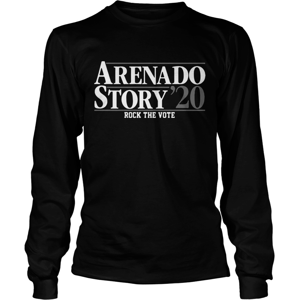 Arenado Story 2020 Long Sleeve