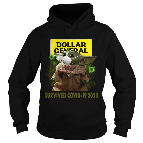 Baby Yoda Dollar General Survived Covid 19 2020  Hoodie