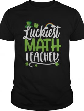 Beautiful Luckiest Math Ever Funny St Patrick Day shirt