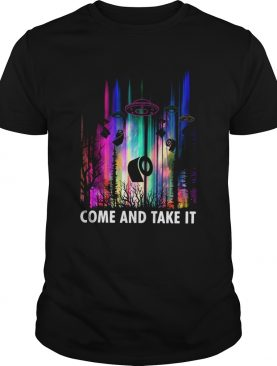 Come And Take It UFO Paper shirt