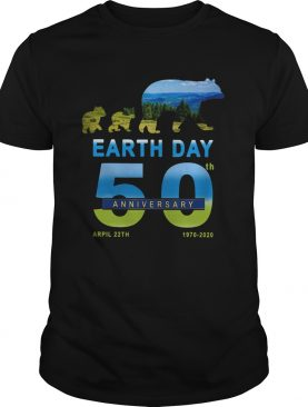 Earth Day 50th Anniversary 2020 Bear shirt
