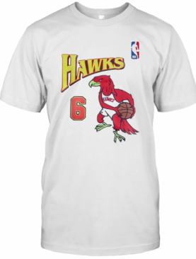 Future X Atlanta Hawks 6 Swingman Jersey T-Shirt