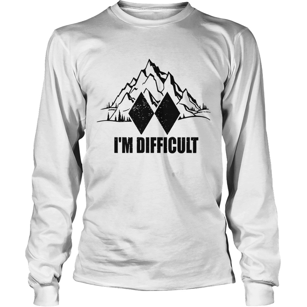 Im Difficult Skiing Long Sleeve