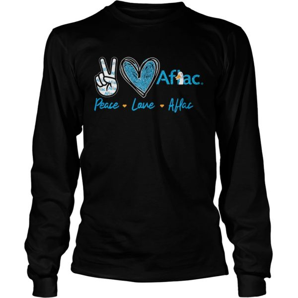 Peace Love Aflac  Long Sleeve