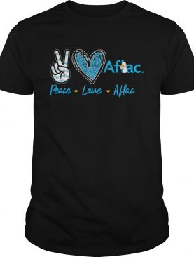 Peace Love Aflac shirt