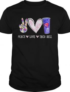 Peace love taco bell shirt