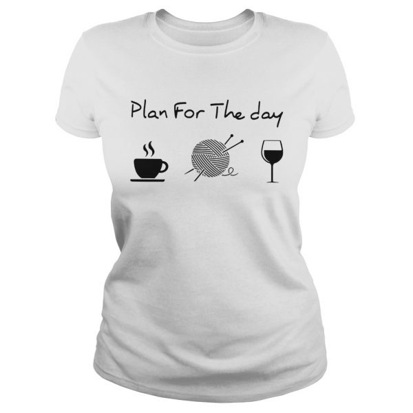 Plan For The Day Knitting  Classic Ladies