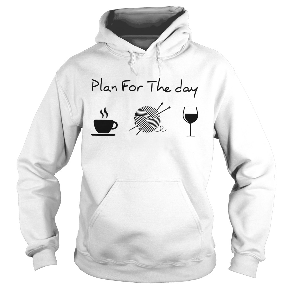 Plan For The Day Knitting Hoodie