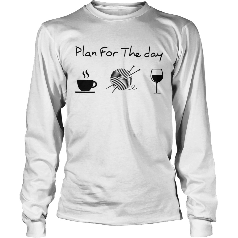 Plan For The Day Knitting Long Sleeve