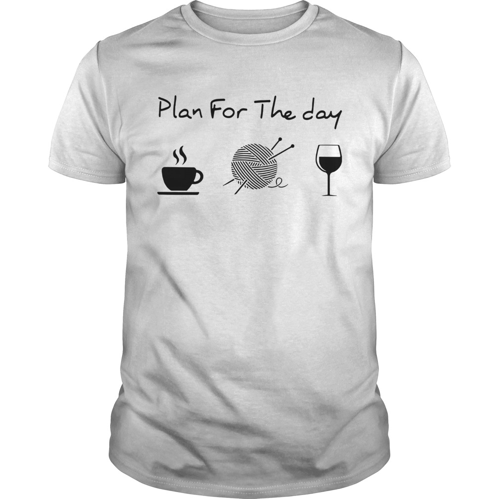 Plan For The Day Knitting Unisex