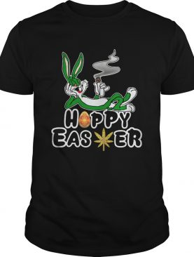 Rabbit Happy Easter Cannabis Weed Bunny shirt