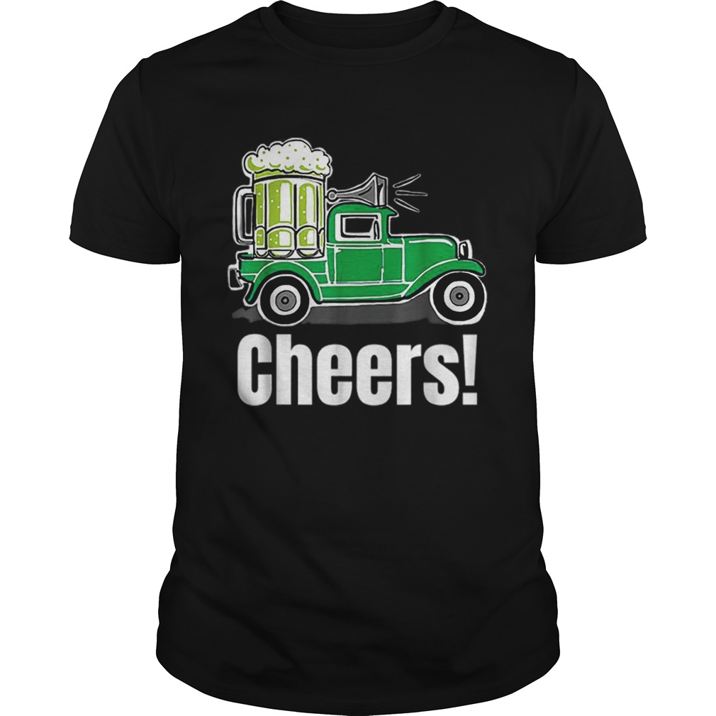 Truck Green Beer St Patricks Day Unisex