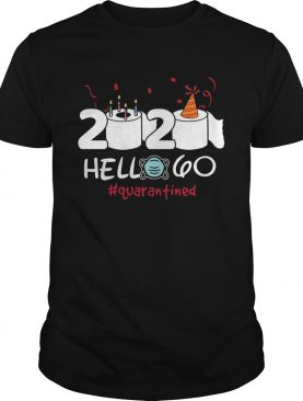 2020 Hello 60 Toilet Paper Birthday Cake Quarantined Social Distancing shirt