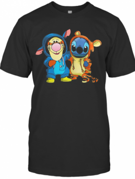 Baby Tigger And Stich T-Shirt