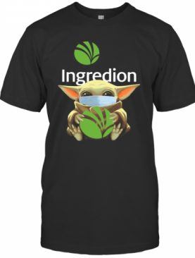 Baby Yoda Face Mask Hug Ingredion T-Shirt