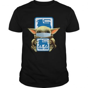 Baby Yoda Mask Hug Food Lion  Unisex