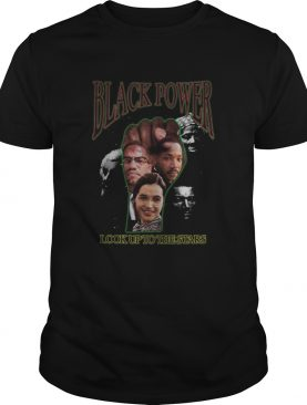 Black Power Look Up To The Stars shirt
