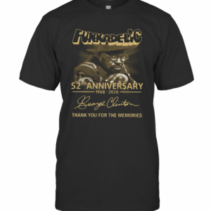 Funkadelic 52Nd Anniversary 1968 2020 Thank You For The Memories T-Shirt Classic Men's T-shirt