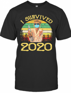 Joanna Lumley As Patsy Stone I Survived 2020 Vintage T-Shirt