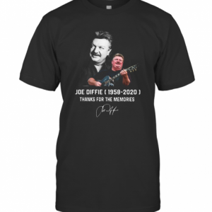 Joe Diffie 1958 2020 Thank For The Memories T-Shirt Classic Men's T-shirt