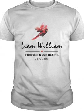 Liam Williams Forever In Your Hearts 20 Oct 2010 shirt