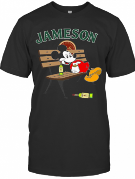 Mickey Mouse Drink Jameson T-Shirt