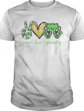 Peace Love Optometry Special Version shirt