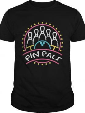 Pin Pals SIMPSONS Bowling Team Distressed shirt