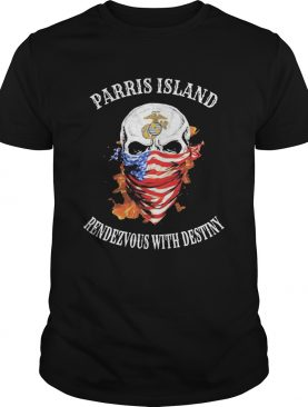 Skull Mask American San Diego Rendezvous With Destiny shirt