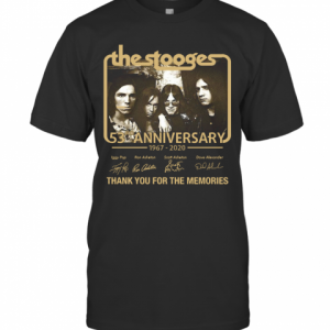 The Stooges 53Rd Anniversary 1967 2020 Thank You For The Memories T-Shirt Classic Men's T-shirt