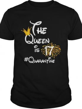 The queen is 17 quarantine fireworks shirt