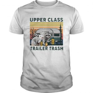 Vintage Raccoons And Opossums Upper Class Trailer Trash  Unisex