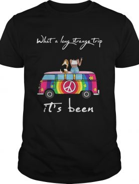 What A Long Strange Trip Its Been Remy And Laviria shirt
