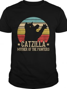 catzilla mother of the pawters vintage shirt