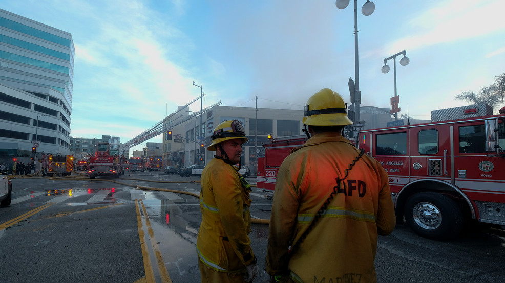 12 Firefighters Injured In Los Angeles Blaze, Explosion