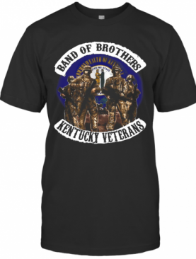 Band Of Brothers Kentucky Veterans T-Shirt