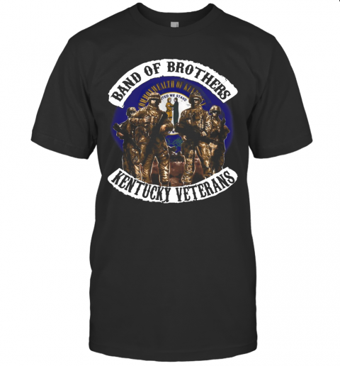 Band Of Brothers Kentucky Veterans T-Shirt Classic Men's T-shirt