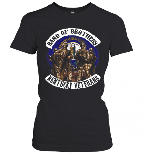 Band Of Brothers Kentucky Veterans T-Shirt Classic Women's T-shirt