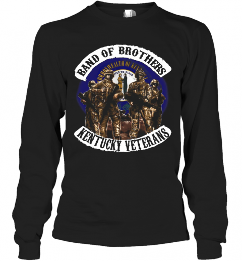 Band Of Brothers Kentucky Veterans T-Shirt Long Sleeved T-shirt