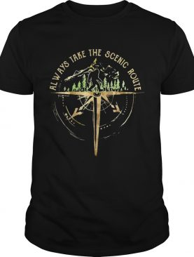 Bigfoot Always Take The Scenic Route shirt
