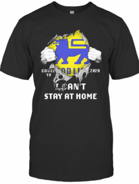 Blood Inside Me Food Lion COVID 19 2020 I Can'T Stay At Home T-Shirt