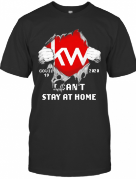 Blood Inside Me KW COVID 19 2020 I Can'T Stay At Home T-Shirt