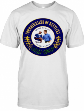 Commonwealth Of Kentucky Divided We Fall T-Shirt