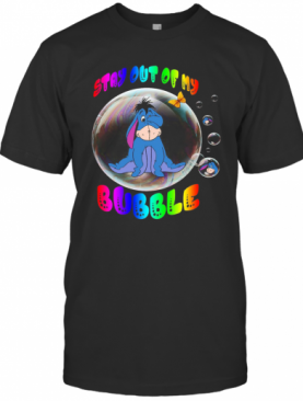 Eeyore Stay Out Of My Bubble Butterfly T-Shirt