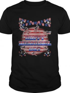Independence Day Dragonflys Happy Memorial Day shirt