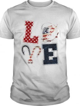 Independence Day love fishing shirt